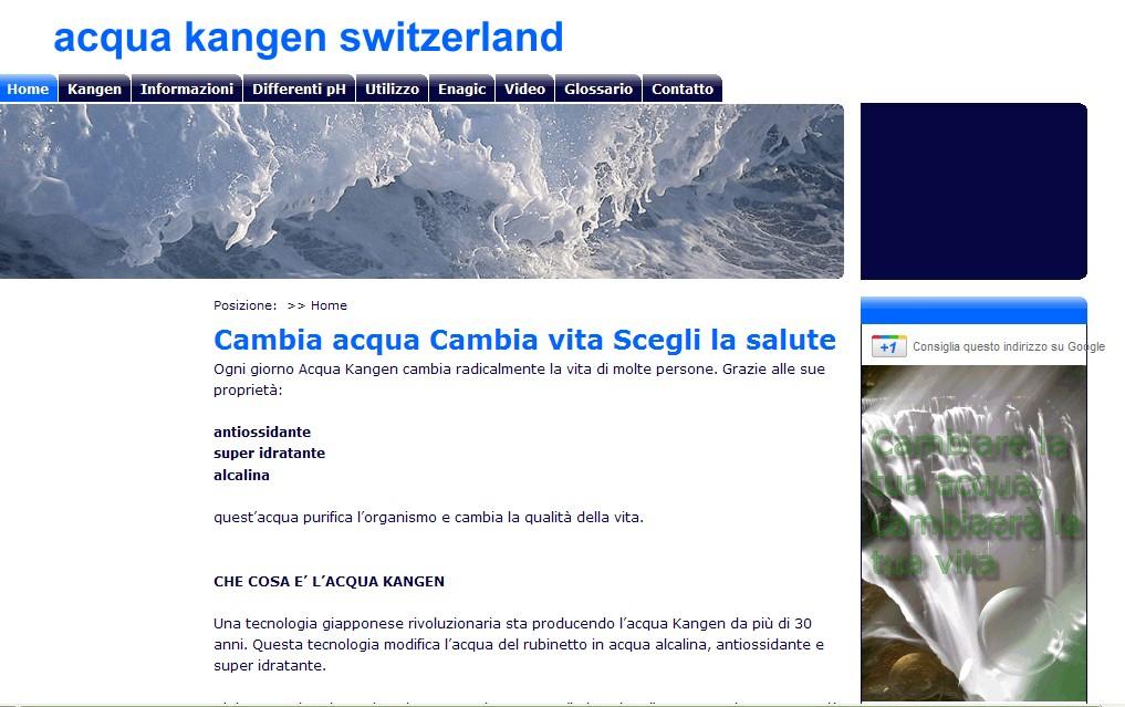 Acqua kangen Switzerland