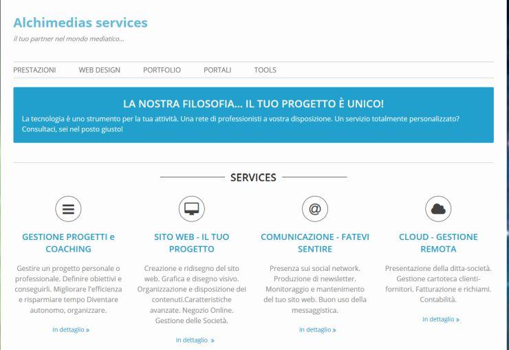 Servizi web ed informatici
