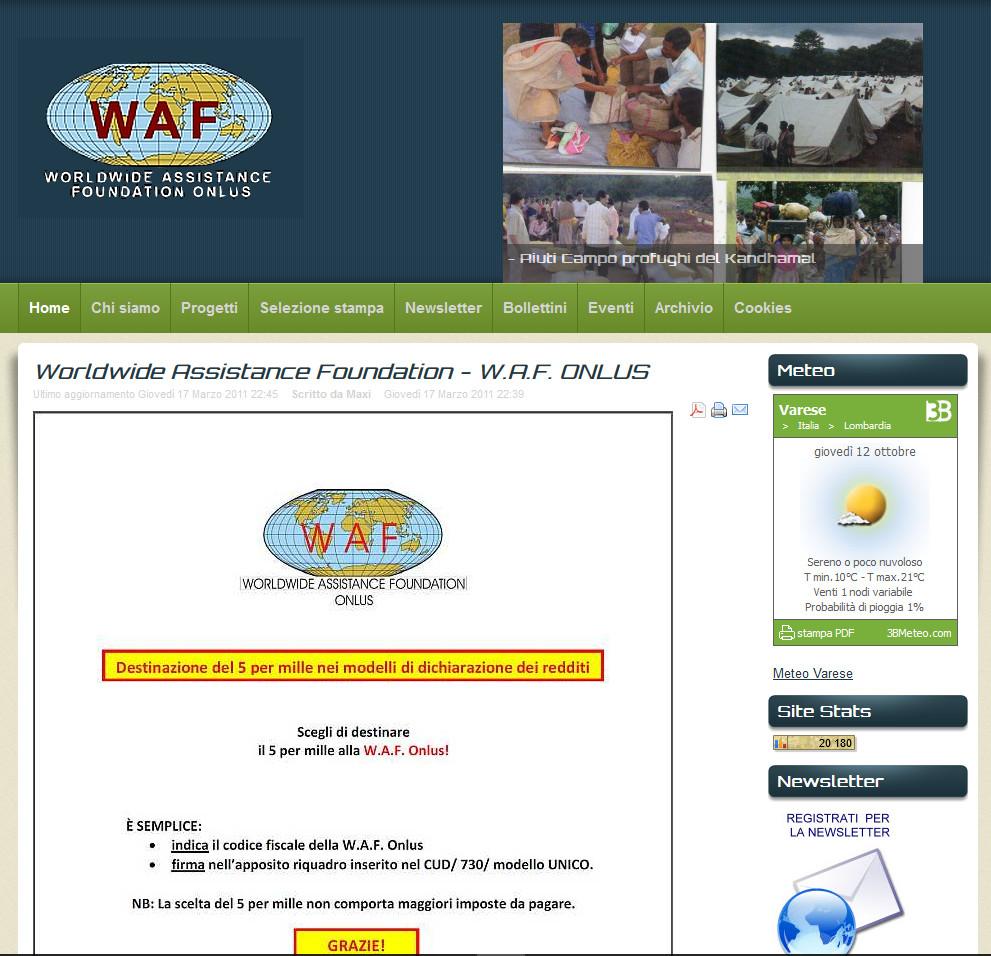 Organizzazioni umanitarie